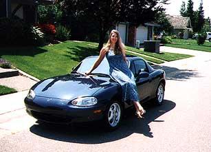 My 1999 Mazda Miata MX5 Convertible