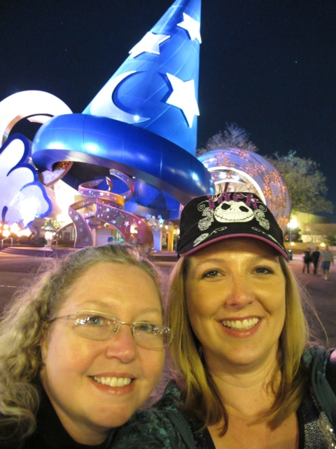 Hollywood Studios giant Mickey hat