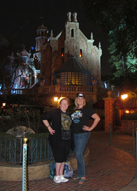 Haunted Mansion 3 times in a row to end the day :)