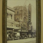 Original Elsinore Theatre Photo in the Grand Hotel Lobby
