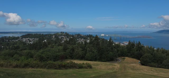 Astoria & Ocean from the Astoria Column
