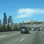 Downtown Seattle from I-5 North
