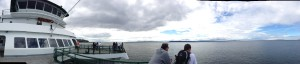 Panorama from the Kingston Ferry
