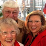 Airport selfie with Mom & Dad