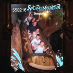 It was warm enough that Splash Mountain was refreshing!