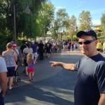 That's just the line to GET FastPass tickets for Radiator Springs Racers?!?