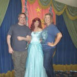 Even Glen consented to a photo with Princess Ariel ;)