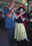 Snow White insisted we both do HER pose ;)