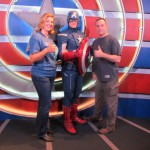 Thumbs Up with Captain America