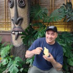 Ghost Host Glen = new fan of Dole pineapple whip!
